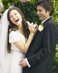 There's nothing like sharing a good laugh with spouse.