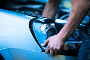 It's relatively simple to replace your car's headlights.