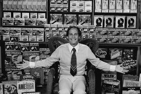 Ron Popeil invented and sells dozens of wild, wacky and silly inventions.