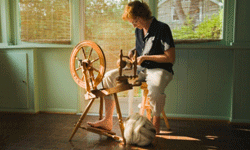 Spinning wheels are hardly a new invention, but if you're serious about your craft, you need a nice (read: expensive) one.