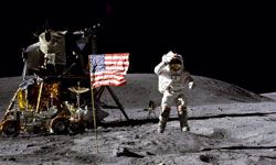 The world was watching on TV in 1969 when the Apollo 11 moon landing became one of the biggest moments in history.