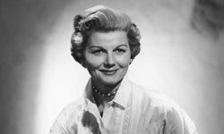 """June Cleaver (played by Barbara Billingsley) often wore pearls while doing housework on """"Leave it to Beaver."""""""