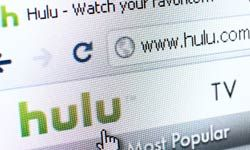 Hulu is one of many streaming media companies making use of broadband Internet to deliver content.