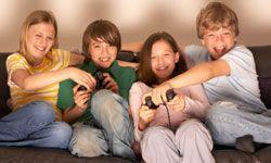 Tweens love battling their friends at video games.