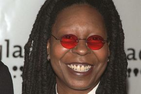 Whoopi Goldberg was paid for her part in a Flooz ad campaign with a stake in the company.