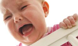 A baby's cry means something.