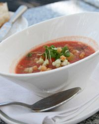 Give it up for gazpacho!