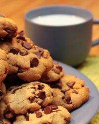 Cookies and milk -- a tradition made possible by Ruth Wakefield