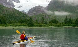 Beautiful Alaska coastline.