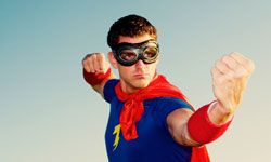 Skip the superhero and bring on the goodie bags!