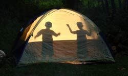 Having his own light source will help your kid have fun instead of frights while camping overnight.
