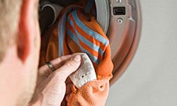 """If that tag says """"dry clean only,"""" you better not put it in the washing machine."""