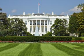 Can you imagine how long it must take to mow the grounds of the White House?