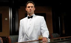 Unless it's a black tie event or you're in the wedding, you probably shouldn't be wearing a white dinner jacket.