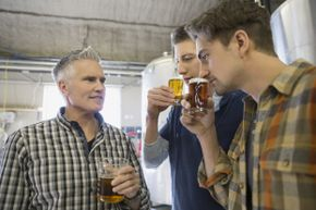 You may like beer, but do you have any knowledge on the brewing process? If not, you may be OK. Most brewery tour guides learn on the job.