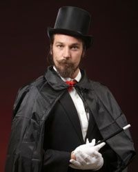 A magician is just the distraction the wedding planner ordered!