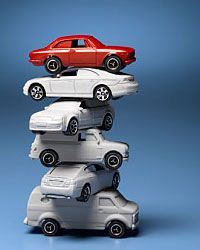 Some inexpensive toy cars will entertain them for hours.