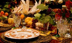 Your autumn tablescape can be understated, bold or somewhere in between.
