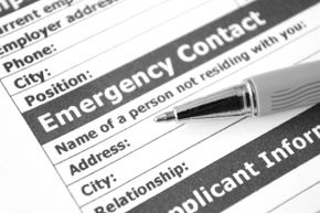 You might not be able to fill out emergency contact paperwork when you're admitted to the ER, so include that information on your phone's contact list or on a contact card in your wallet.