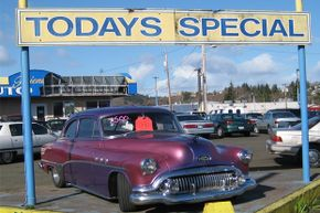 Choosing your kid's first car can be a difficult decision. A 1951 Buick is not a great choice, by the way.