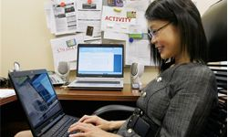 Using the online social networking site Facebook, Kelly Huang of Chicago was reconnected with her friend Tina Lee Naro, who lives in New York, after not having been in contact for 10 years.