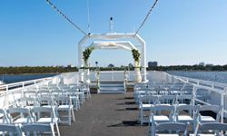 With a wedding cruise, you can exchange vows and sail into the sunset.