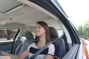 New drivers have to be even more careful and pay even closer attention to what's happening around them when they're driving solo.