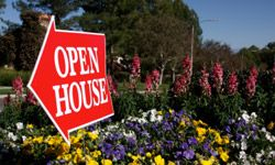A real estate agent can help draw people to your listing with advertising and open houses.