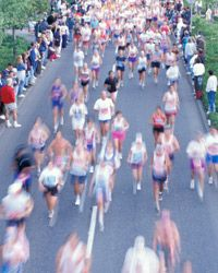 You, too, could be one of these happy blurs if you sign up for a marathon (or a race of any kind).