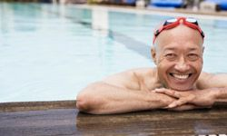 Who knew swimming could make you a better runner? This guy, apparently.