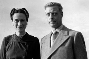 Prince Edward abdicated the throne for Wallis Simpson.