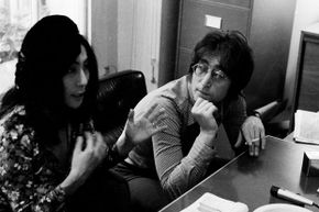 John Lennon and Yoko Ono worked to spread a message of world peace.