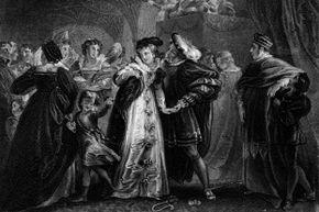 Henry VIII was instantly smitten with Anne Boleyn.