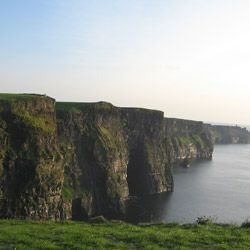 As you stop to rest, you'll take in views of the Cliffs of Moher.