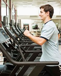 For variety, change up the scenery by using a treadmill.