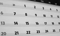 Treat your training runs just like any other appointment. Write them on your calendar so you'll be sure to arrange time.