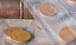 Coin collectors search for rare coins that are in good condition.