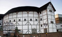 A reconstructed Globe Theatre will give you the opportunity to experience the works of Shakespeare and many others. The original Globe was dismantled around 1644.