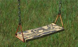 Swings looking lackluster? Fix 'em.