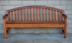 What kid doesn't love a project? Challenge your family to build a park bench.