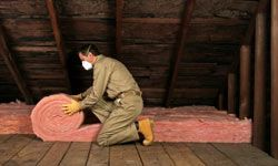 Proper insulation ensures that energy isn't escaping through the attic.