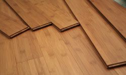 Bamboo is a rapidly renewable resource, so it's ideal for flooring.