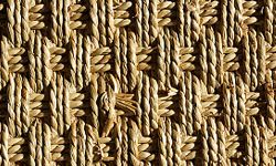 """Does an area rug made of woven sea grass count as """"green"""" material?"""