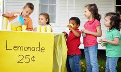 Starting a profitable neighborhood lemonade stand doesn't require a lot of capital.