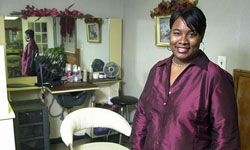 Cosmetologist Bayyinah Marbury started the B Chic beauty parlor in Union, N.J. with funding from the U.S. Small Business Administration.