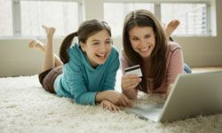It's easy to find deals for your family on the Internet.