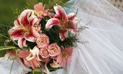 They're not just beautiful accessories: The wedding bouquet and veil both originated as ways for the bride to ward off evil.