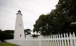 The Ocracoke Lighthouse is North Carolina's oldest operating lighthouse.