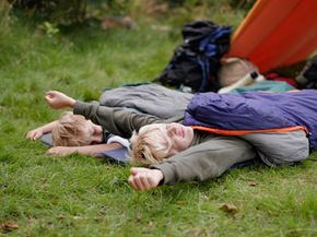 Avoid fatigue by resting on the trail.