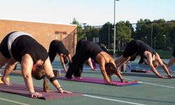 Yoga provides health benefits for adults of all ages and fitness levels, and seniors can especially benefit from the increased flexibility and balance it offers. See more healthy aging pictures.